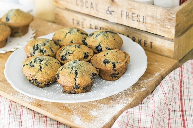 Gyümölcsös muffin