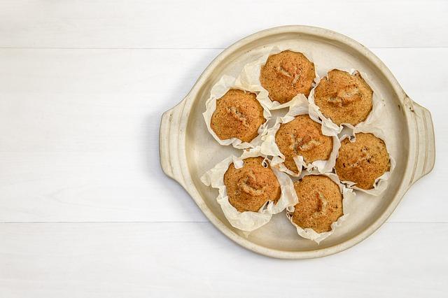 Isteni vaníliás-kókuszos muffin