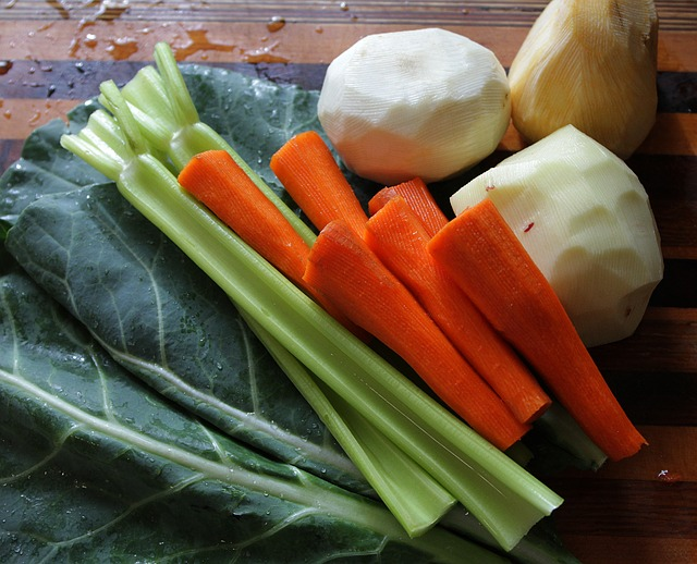 Lestyános zöldségleves