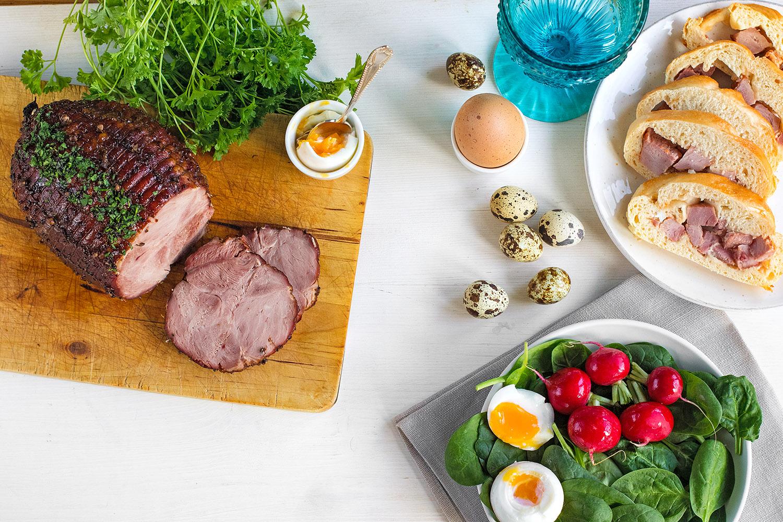 A hagyományos helyett pulykasonka is kerülhet a húsvéti asztalra