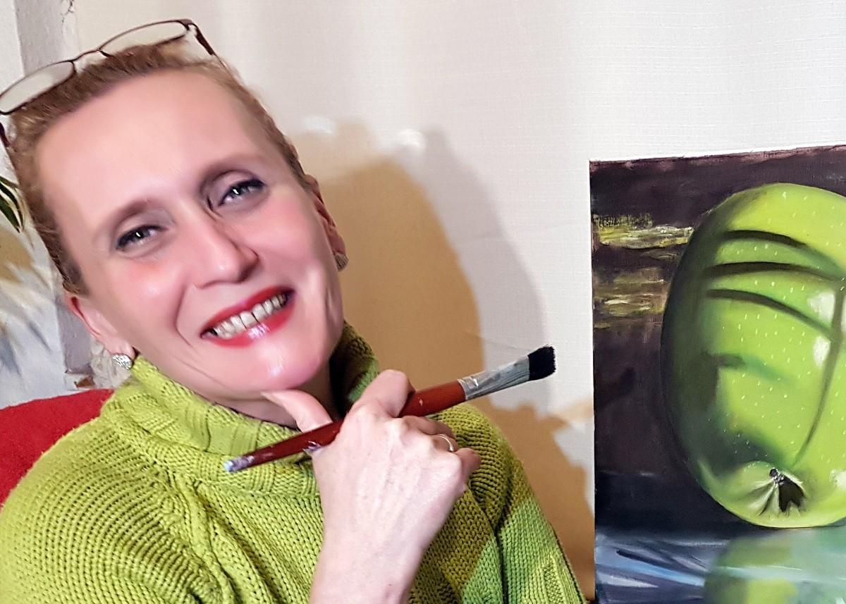Te jó ég, nem mondod, hogy festőművész lett?!
