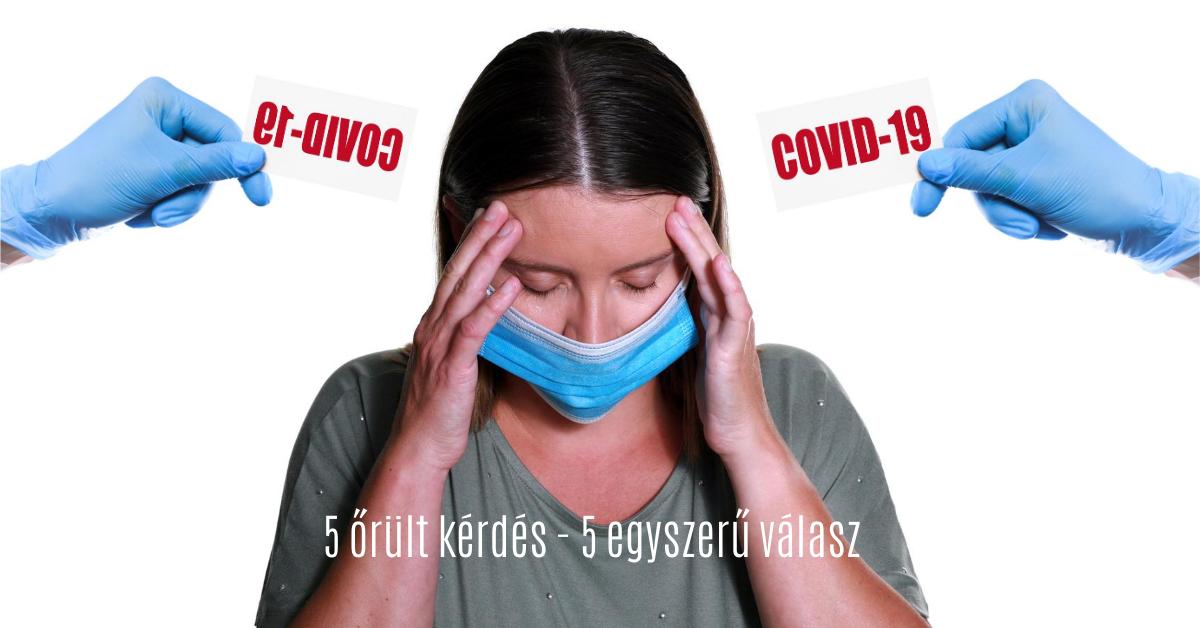 Top 5 idióta kérdés a Covid-19 kapcsán: Itt az agyirokkant teszt