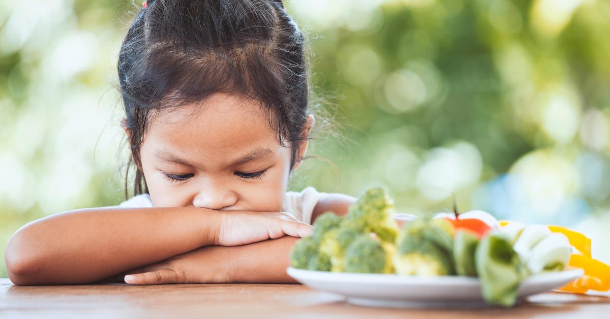 A gyerek, aki nem eszik meg semmit