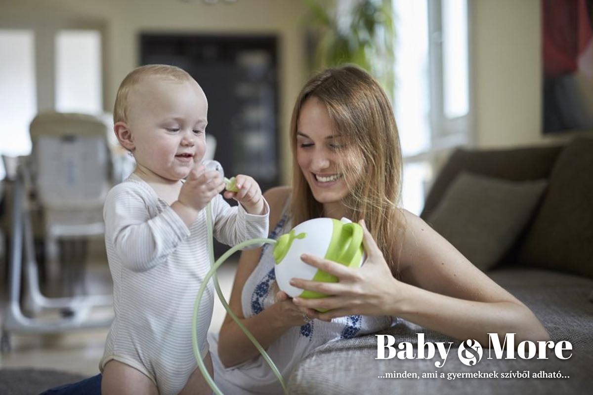 Baby&More webáruház, a Nosiboo termékek hivatalos forgalmazója