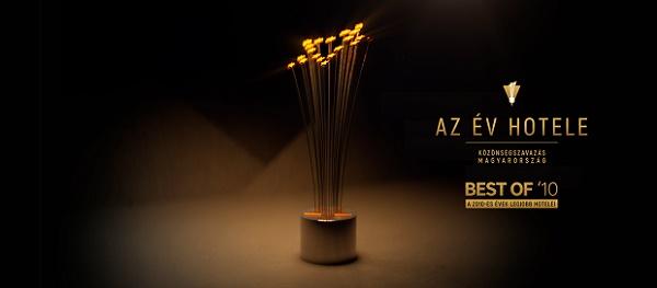 2017 győztese lett a Best of AZ ÉV HOTELE